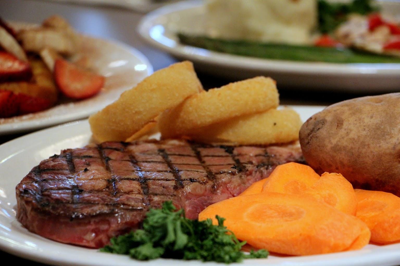 steak Maurice River Diner Port Elizabeth, NJ