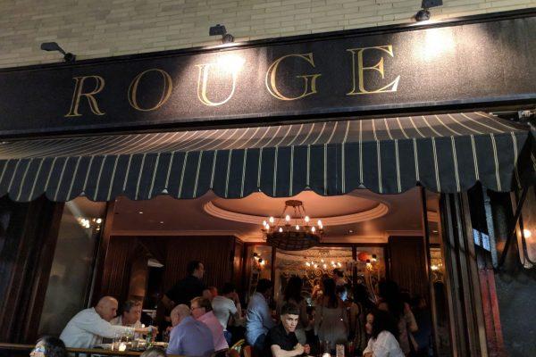 store front Rouge Restaurant, Philadelphia, PA