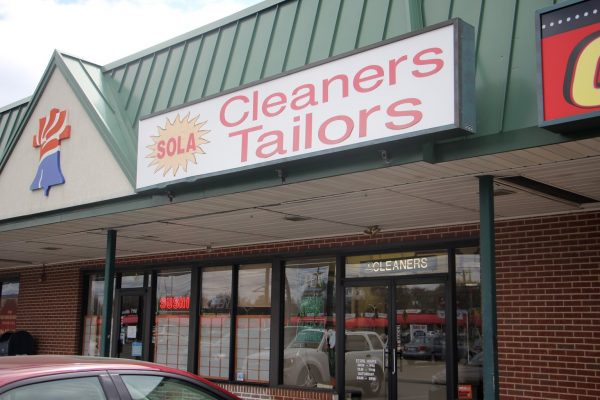 store front Sola Cleaners Cherry HIll NJ