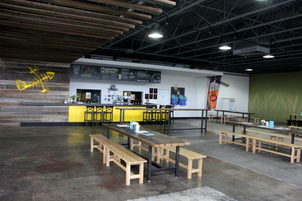 tasting room Flying Fish Brewing Co, Somerdale, NJ