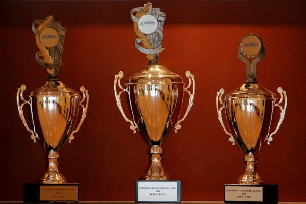 trophies Arthur Murray Roxbury Dance Studio, Ledgewood, NJ