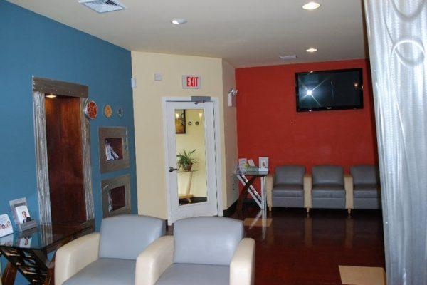 waiting room of Dental Office Serenity Smile Designs Dentist, Egg Harbor Township, NJ