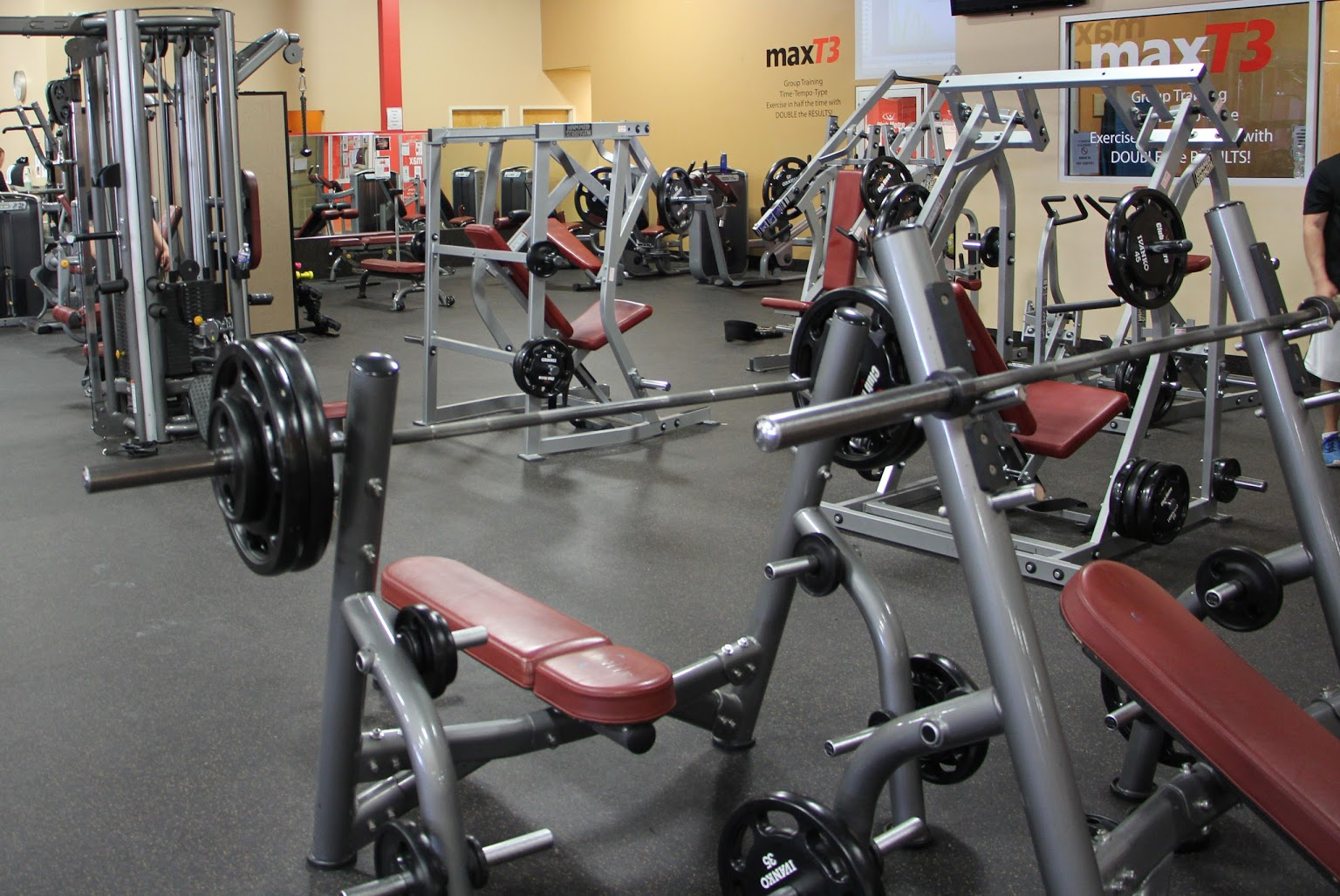 weights Club Metro USA Fitness Center Phillipsburg NJ