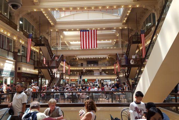 The Bourse – See-Inside Food Court & Shopping, Philadelphia, PA