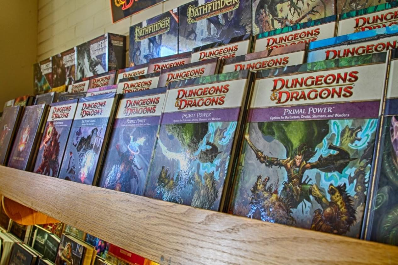 Dungeons and Dragons 4.0 book at Topdeck Games