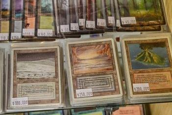 Top Deck Games Magic The Gathering dual lands cards