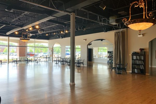 dance floor at Arthur Murray Dance Studio, Schaumburg, IL