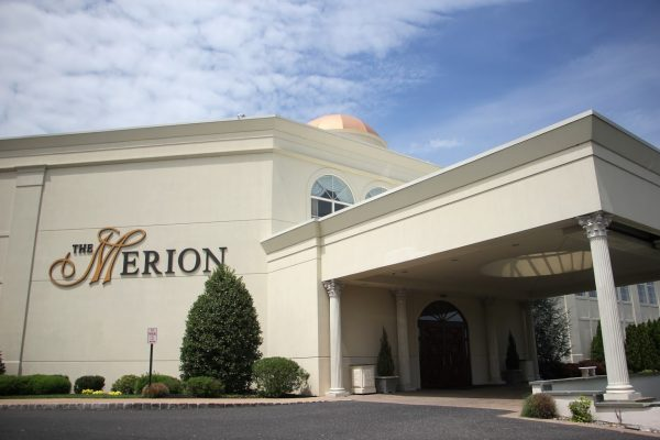 front exterior sign of The Merion Weddings banquet, Cinnaminson, NJ