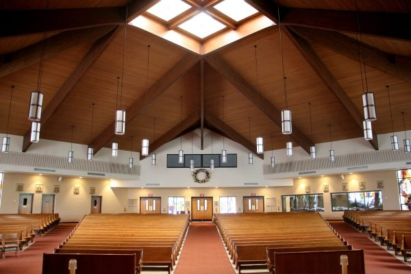 sanctuary at Church of St. Joan of Arc - See-Inside Place of Worship, Marlton, NJ