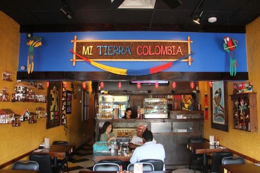 Mi Tierra Colombia Pennsauken NJ interior