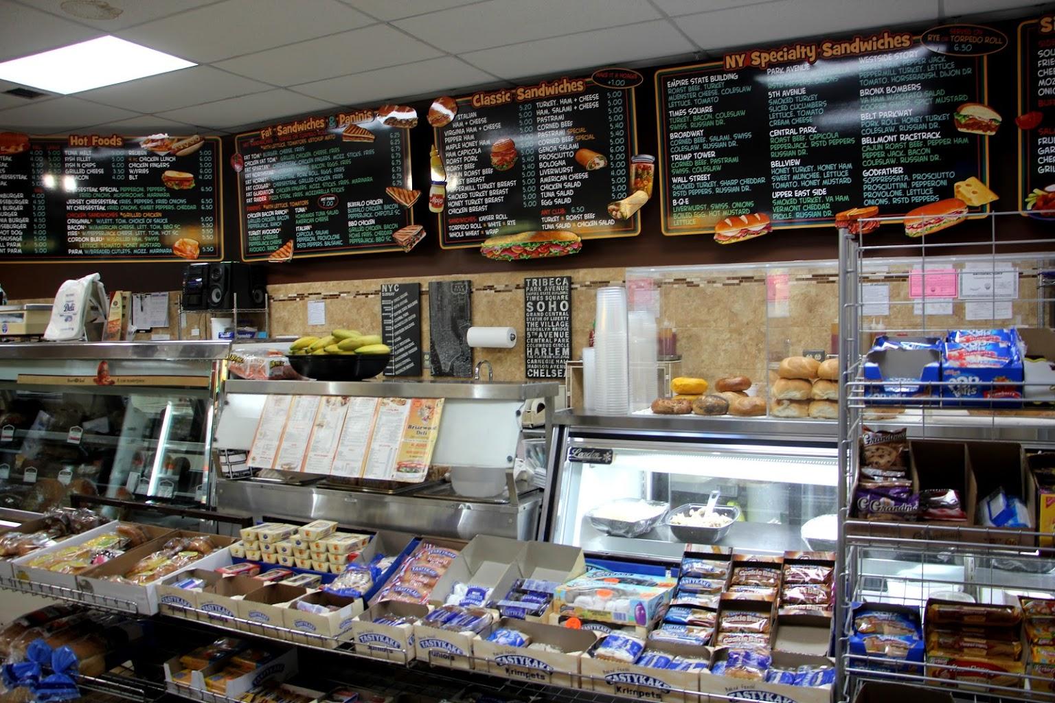 New Briarwood Deli display Delicatessen Convenience Store, Hamilton, NJ