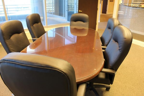 conference table at Dansky Katz Ringold & York – Marlton, NJ – Law Office