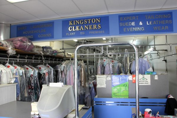 counter at Kingston Cleaners Cherry Hill NJ