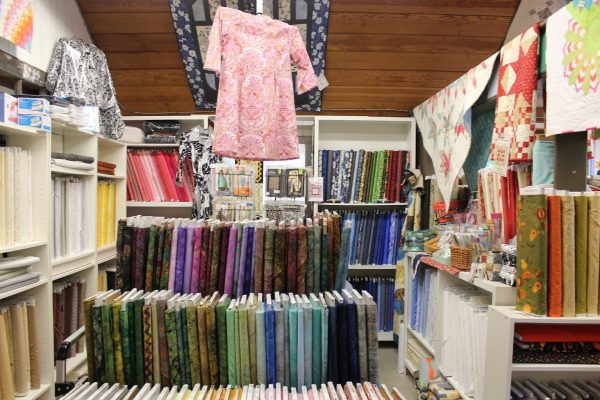 fabrics at The Village Quilter – Mount Holly, NJ – retail store
