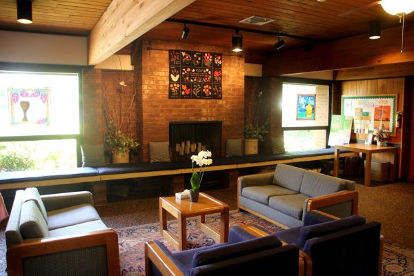 fellowship lounge at St Michael's Lutheran Church - Cherry Hill, NJ