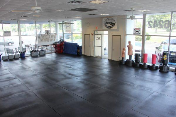 gym at Israeli Krav Maga Martial Arts, Bordentown Township, NJ