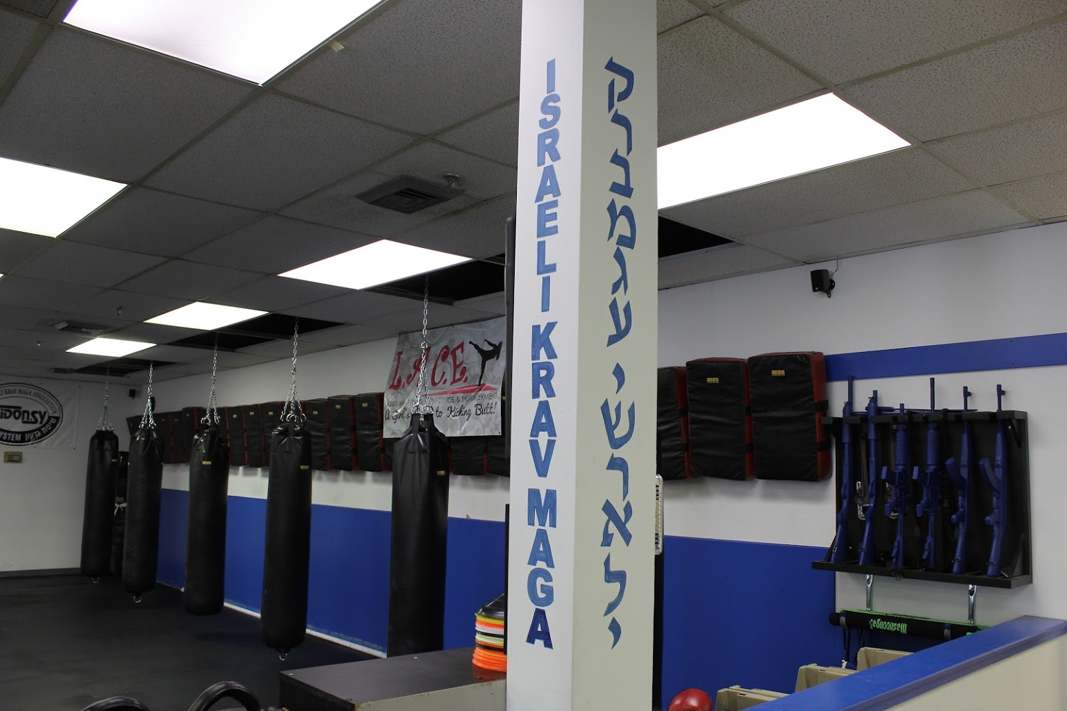 gym punching bags Israeli Krav Maga Martial Arts, Cherry Hill, NJ