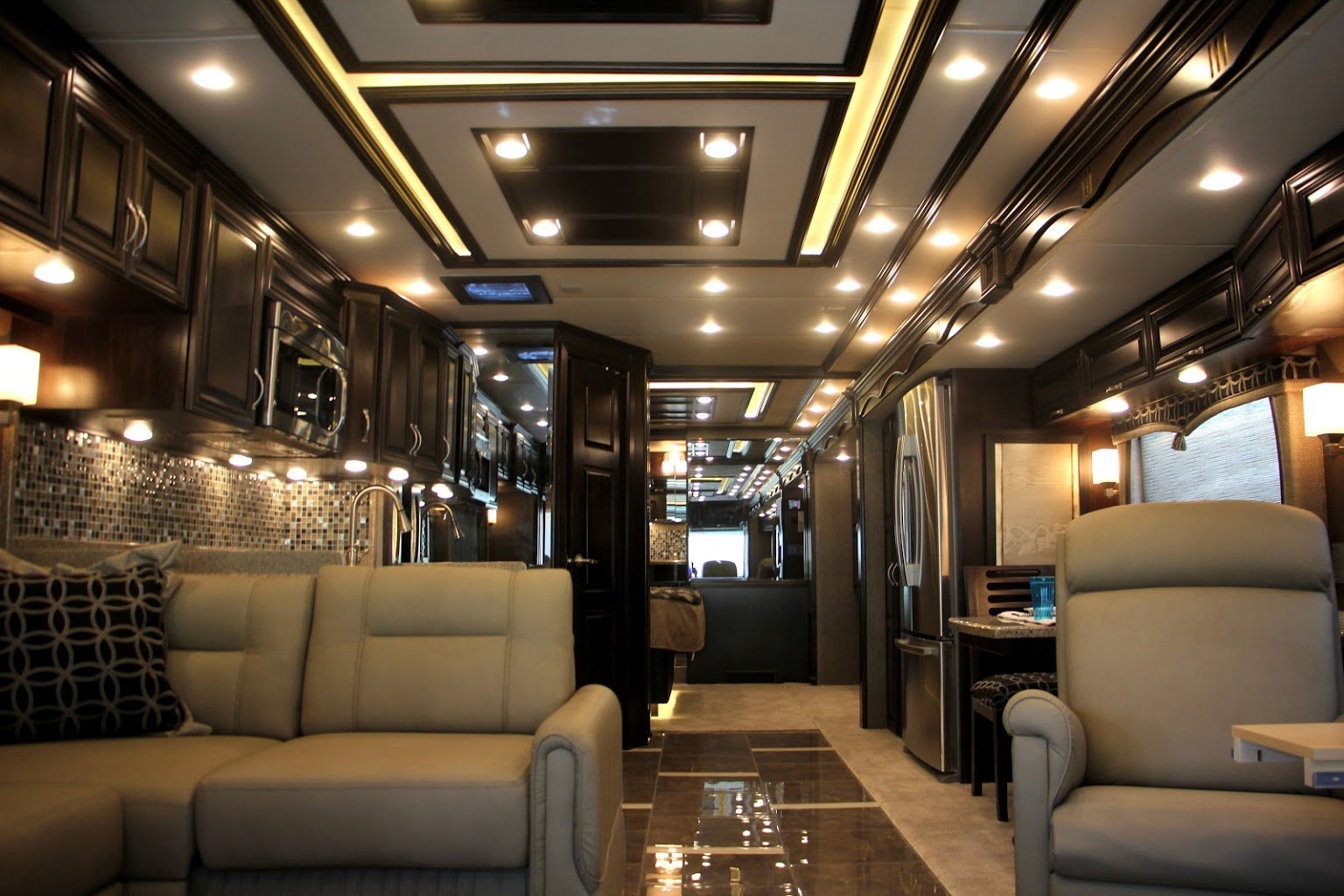 interior of Recreational Vehicle at Dylans RV Center in Sewell, NJ