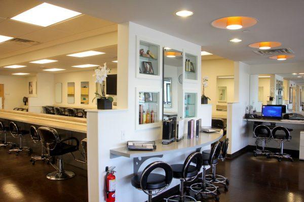 interior of Shore Beauty School Beautician Training, Egg Harbor Township, NJ