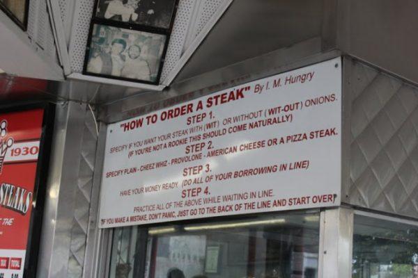 Pats King of Steaks Philadelphia PA