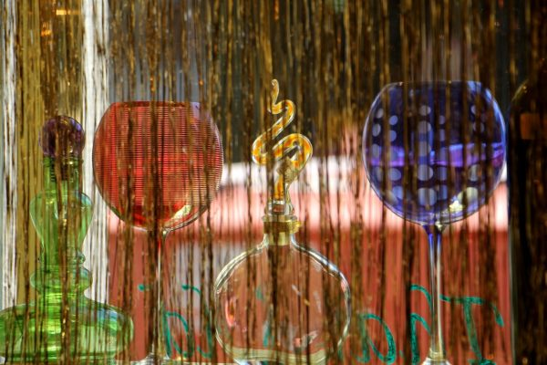 primary color glass More Than Old Antique Store, Philadelphia, PA
