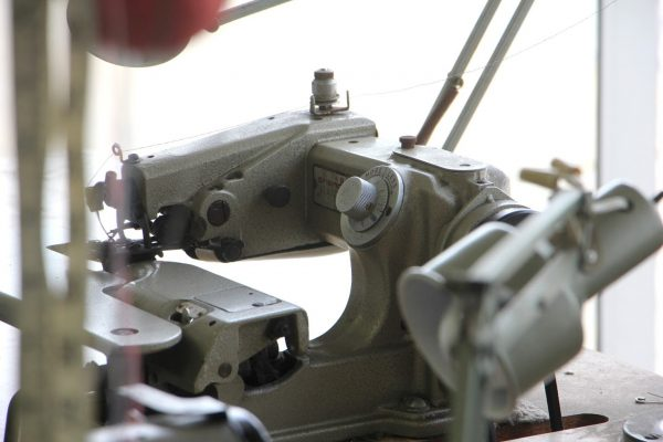 sewing machine for alterations at counter at Kingston Cleaners Cherry Hill NJ.jpg