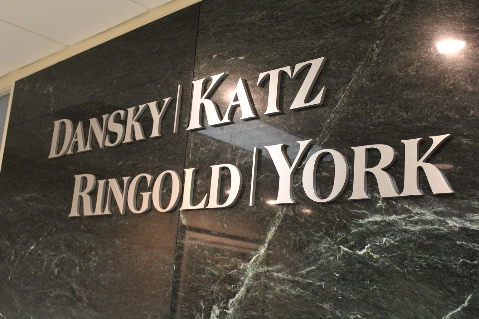 sign of Dansky Katz Ringold & York – Marlton, NJ – Law Office