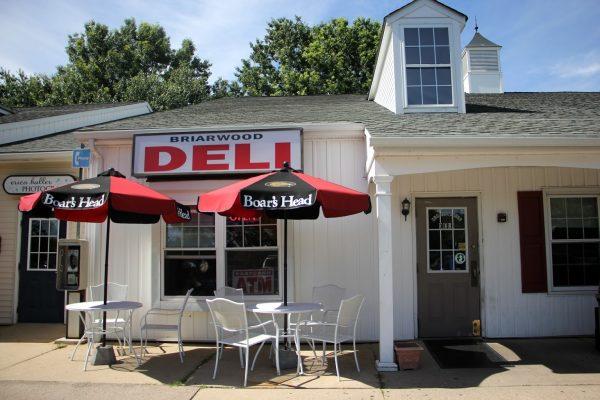 store front of New Briarwood Deli Delicatessen Convenience Store, Hamilton, NJ
