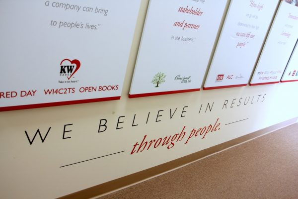 wall in KW Top Team Keller Williams Realty – See-Inside Business Office, Medford, NJ