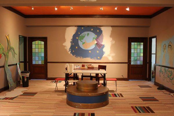 youth room at Glencoe Union Church – Glencoe, IL