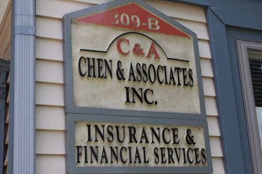 Chen & Associates Inc sign