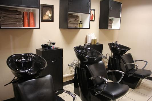 Salon Ambiance Cherry Hill NJ hair wash basin