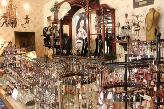Starry Eyed Jewelry and Gift Boutique counter display
