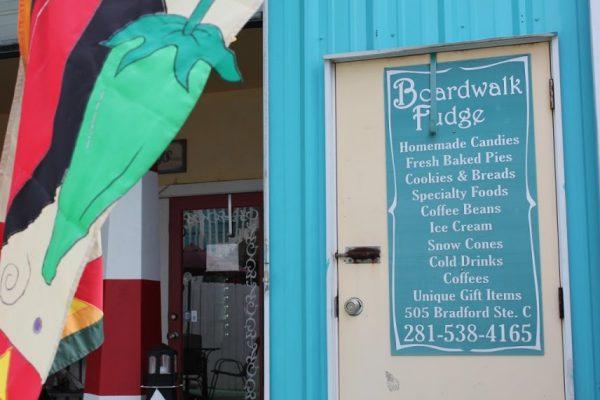 Boardwalk Fudge Kehmah TX menu