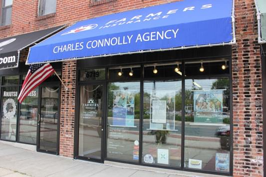 Connolly Farmers Insurance Agency – See-Inside Business Office, Baltimore, MD