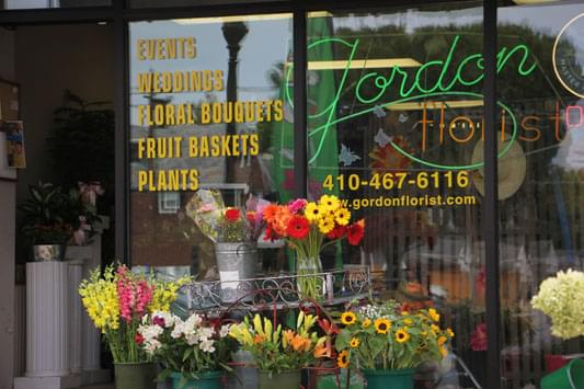 Gordon Florist Baltimore MD exterior
