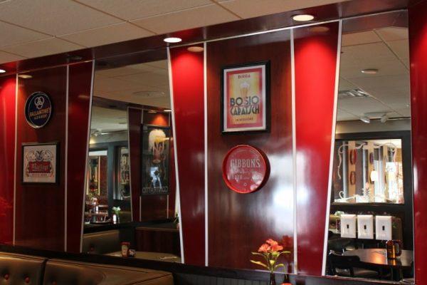 PB's Diner & Tap Room Glassboro NJ decor