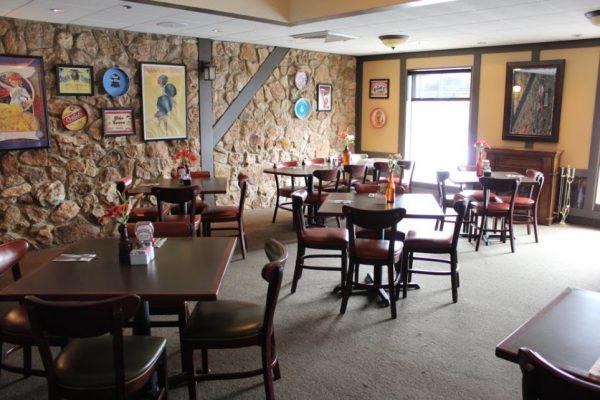 PB's Diner & Tap Room Glassboro NJ tables