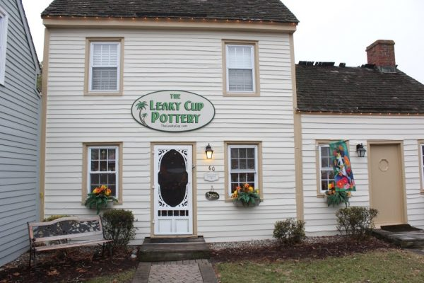 The Leaky Cup Pottery in Historic Smithville Absecon NJ
