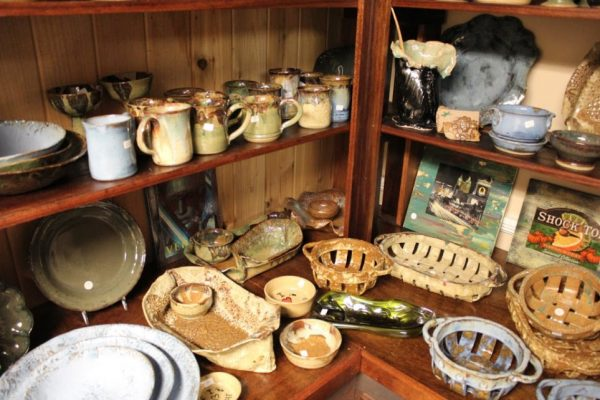 The Leaky Cup Pottery in Historic Smithville Absecon NJ ceramics