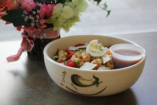 Friends Cafe Camden NJ salad