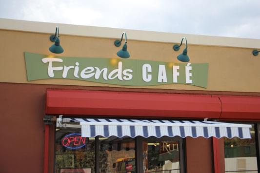 Friends Cafe Camden NJ