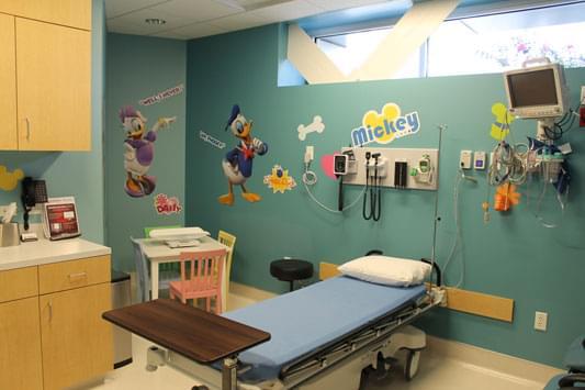 Neighbors Emergency Center Pearland TX childrens room