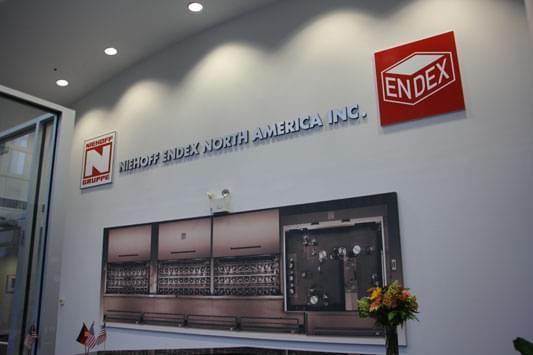 Niehoff Endex North America Inc. Swedesboro, NJ lobby