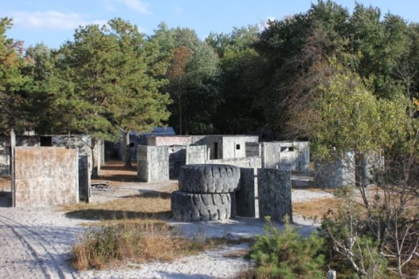 On Target Paintball Games Inc. Pemberton, NJ obstacle field