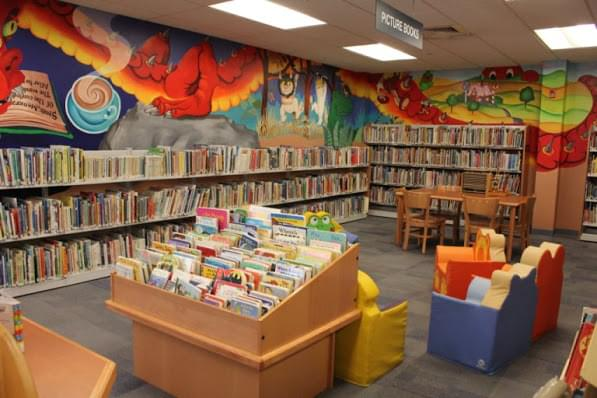 The Ocean City Free Public Library – See-Inside Library, Ocean City, NJ