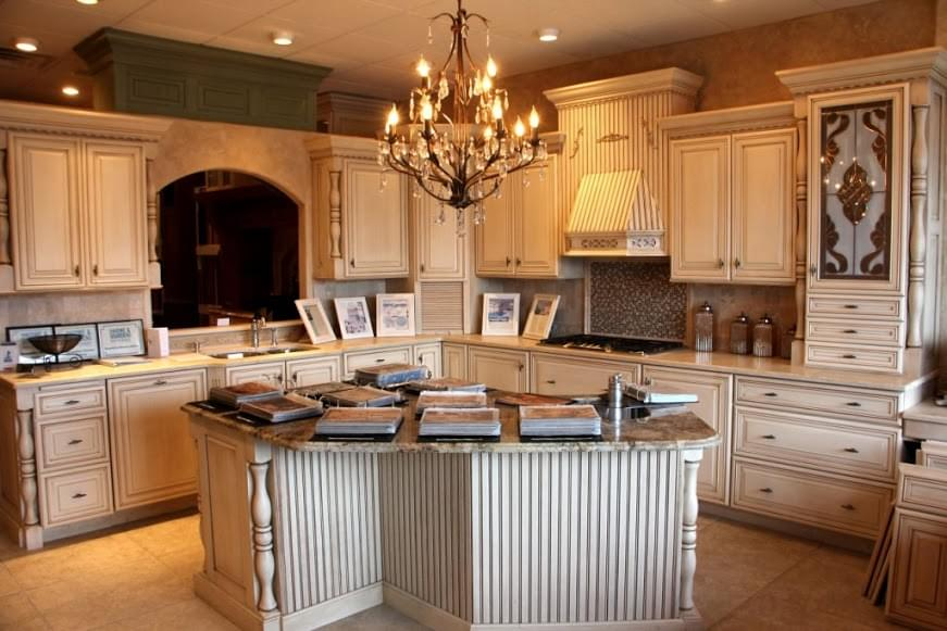 Buzzetta S Kitchen Gallery Cherry Hill Nj Display Remodeling Island Stove Range Sink Cabinets