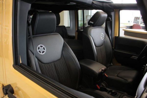 Carman Chrysler Dodge Jeep Ram New Castle DE automobile car dealership Jeep wrangler leather seats star