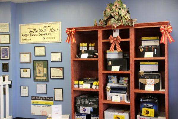 Cartridge World Cherry Hill NJ office supply store printers store interior