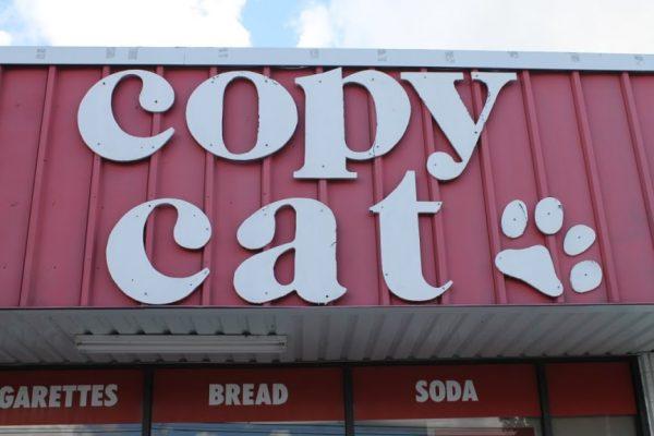 Cat Corner League City TX entrance sign